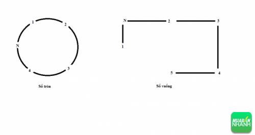 Hộp số tròn và hộp số vuông