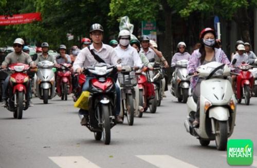 Sai lầm khi sử dụng xe máy