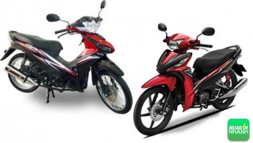 So sánh về động cơ Yamaha Sirius Fi và Honda Wave 110 RSX Fi