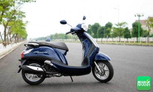 Yamaha Grande thiết kế đằm hơn