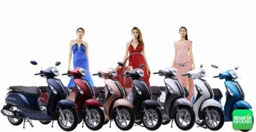 Các phiên bản màu của Yamaha Grande