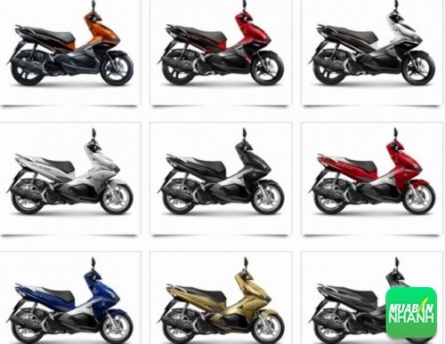 Các phiên bản màu của Honda Air Blade