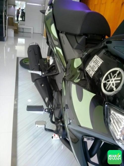 Màu sơn rằn ri lần đầu tiên xuất hiện trên một mẫu xe máy tại Việt Nam.