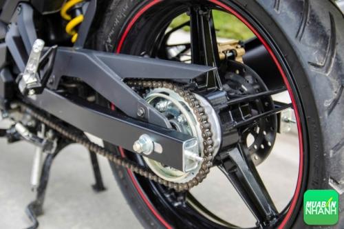 Thiết kế tinh tế trên Yamaha Exciteer 150