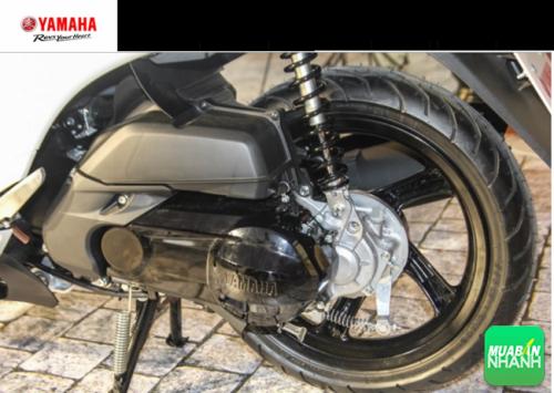 Trang bị động cơ blucore trên Yamaha Janus 2016