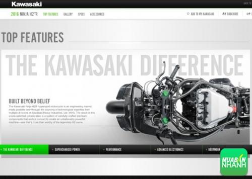 Mô tô Kawasaki Ninja H2