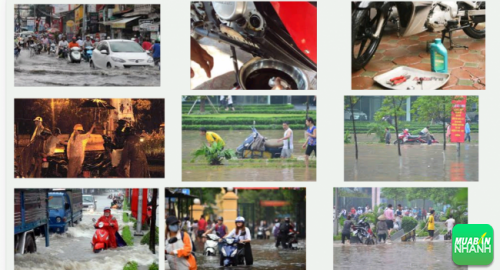 Xe máy bị ngập nước chết máy cần sửa chữa thế nào?