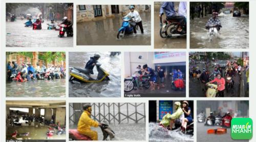Phải làm gì khi xe máy bị ngập nước chết máy vào mùa mưa?