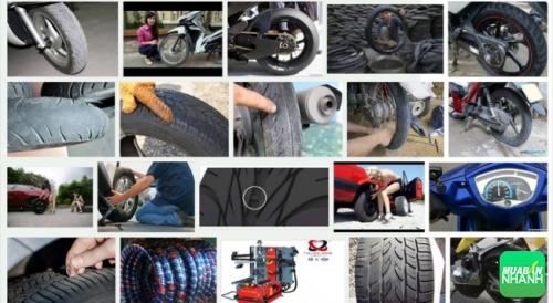 Những chi tiết cần để ý để thay ngay lốp xe máy kẻo gây tai nạn