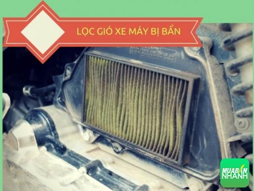 Xe máy tốn xăng không tưởng: cần thay ngay lọc gió!