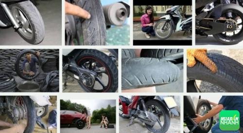 Hướng dẫn bảo trì lốp xe máy