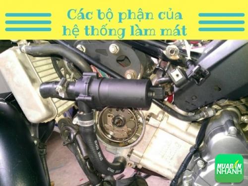 Hư hỏng thường gặp ở hệ thống làm mát xe máy