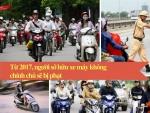 Từ 2017, người sở hữu xe máy không chính chủ sẽ bị phạt