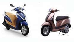 Nên chọn xe máy tay ga Yamaha Grande hay Honda Lead