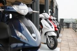 So sánh xe máy Honda Lead 2015 với Yamaha Acruzo và Piaggio Liberty 2015