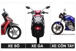 Chọn xe máy nào để đi phượt?