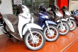 Cách định giá khi mua xe máy Honda Sh Mode cũ