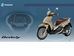 Liệu Piaggio Beverly 2016 có qua mặt được Honda SH trong phân khúc xe ga hạng sang?