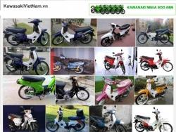 Kawasaki Max – trào lưu xe máy một thời của sinh viên