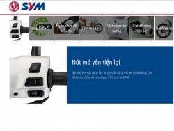 SYM Shark 170: Thêm sự lựa chọn