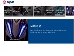 Đánh giá xe côn tay giá rẻ SYM Galaxy Sport