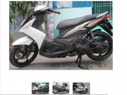 Một vài lỗi trên xe máy tay ga Yamaha Nouvo cần lưu ý