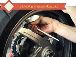 Lốp (vỏ) xe máy và cách sử dụng hạn chế những hư hỏng thường gặp