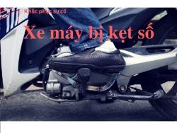 Xe máy bị kẹt số và cách khắc phục ai cũng làm được