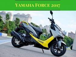 Scooter mới Yamaha Force 2017 có điểm gì nổi bật?