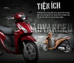 Trung tâm xe máy đánh giá Honda Vision 2016