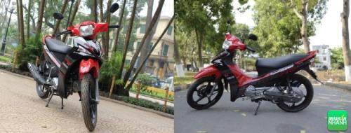 Yamaha sirius RC và Sirius Fi tiết kiệm nhiên liệu