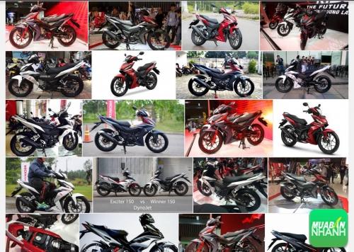 Xe máy nam côn tay phổ thông 150 phân khối chọn Yamaha Exciter 150, Suzuki Raider 150 hay Honda Winner 150?, 461, Uyên Vũ, Chuyên trang Xe Máy của MuaBanNhanh, 03/10/2016 10:32:27