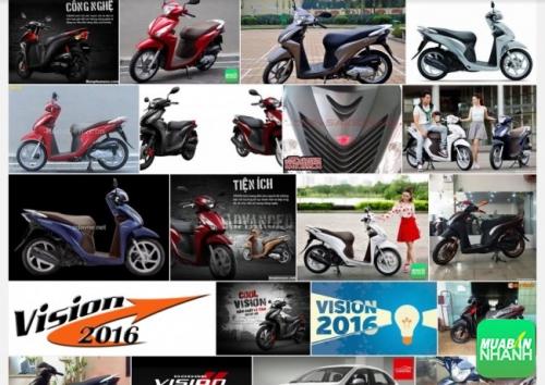 đánh giá chi tiết xe máy Honda Vision 2016
