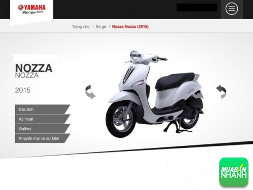 Yamaha Nozza 2015