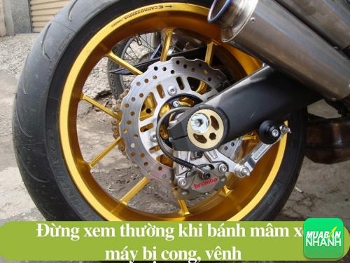 Mâm xe máy bị cong, vênh và cách khắc phục, 518, Uyên Vũ, Chuyên trang Xe Máy của MuaBanNhanh, 31/10/2016 14:10:40