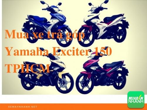 Mua xe trả góp Yamaha Exciter 150 TPHCM