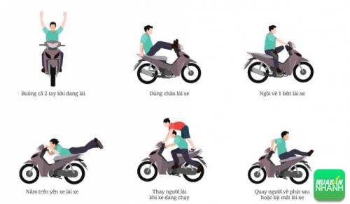 Từ ngày 1/8: Tịch thu xe máy ngay nếu vi phạm những lỗi dưới đây