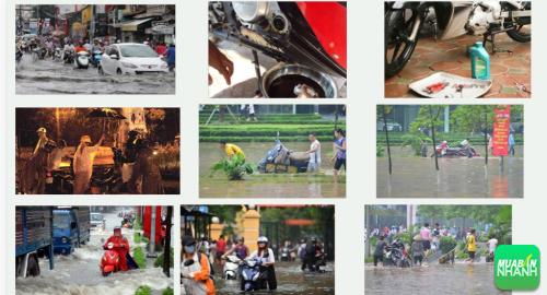 Xe máy bị ngập nước chết máy cần sửa chữa thế nào?, 460, Uyên Vũ, Chuyên trang Xe Máy của MuaBanNhanh, 30/09/2016 11:24:07