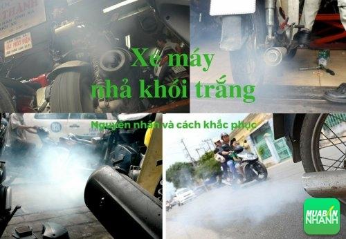 Xe máy của bạn nhả khói trắng là bị bệnh gì?, 530, Uyên Vũ, Chuyên trang Xe Máy của MuaBanNhanh, 12/11/2016 10:50:10